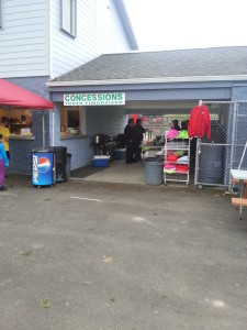 Longview Soccer Club Concessions at 7th Avenue Fields
