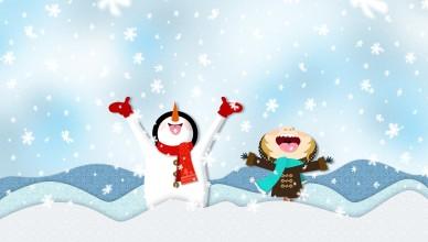 Best-Winter-Snow-Cartoon-HD-Wallpaper